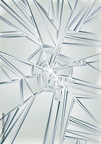 Broken glass. Vector background. - 33701909