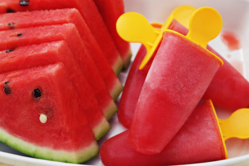 watermelon ice-cream