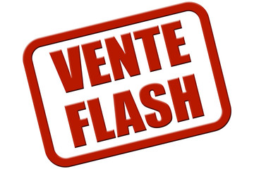 Stempel rot rel VENTE FLASH