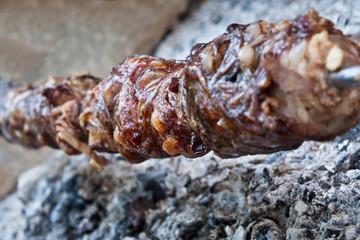 Kokoretsi - roasted bowels