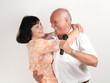 Tanz mit einem Sänger