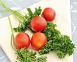 Tomates y perejil
