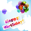 Sfondo di compleanno - Happy birthday background
