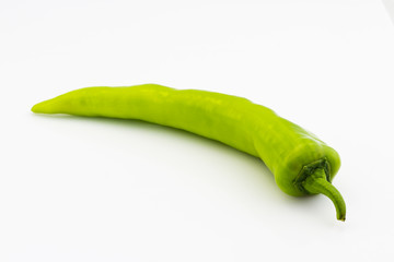 one fresh green chilli