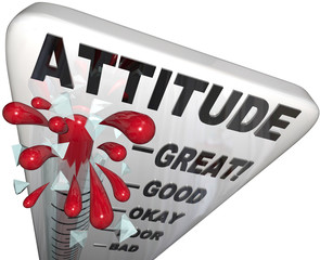 Attitude Measuring on Thermometer Positivity for Success