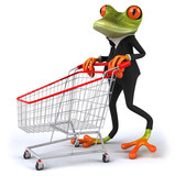 Fototapety Business frog