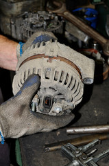 automobile alternator
