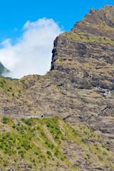 tunnel de Cap Noir, cirque de Cilaos, île de la Réunion