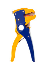 Wire Stripper isolated on white background.