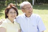 Fototapety 仲の良い老夫婦