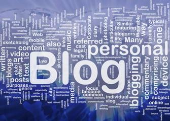 Web blog background concept