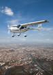 Leinwanddruck Bild - sightseeing flight
