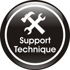bouton support technique