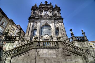 Clérigos Church, Porto, Portugal.