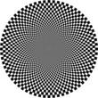 optische Illusion, Kreis
