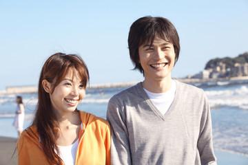 江ノ島のカップル