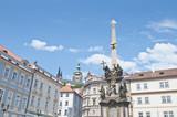 Pest Column of Prague poster
