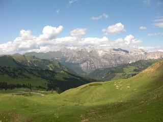 Blick über Südtirol