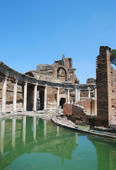 The Maritime Theater in the Hadrian's Villa. Tivoli - Italy
