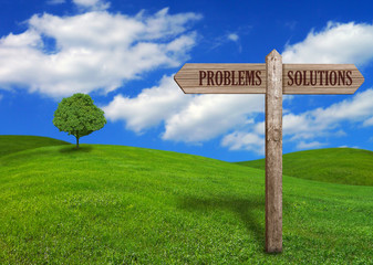 Country Sign Post - Problems & Solutions