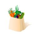 package of vegetables