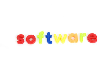 colorful software  letters