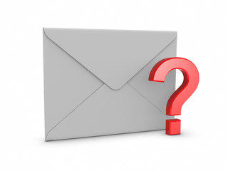 Mail with Question Mark