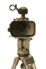 Video camera front view