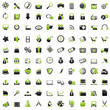 100 Web Icons: green