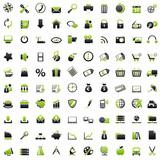 100 Web Icons: green