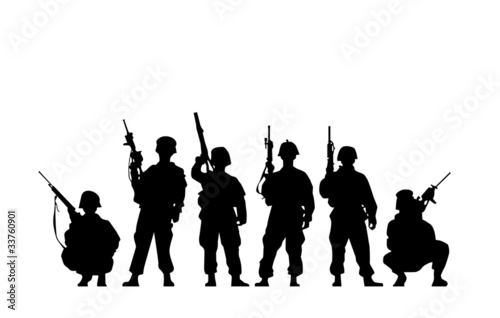 Soldier Silhouette - 33760901