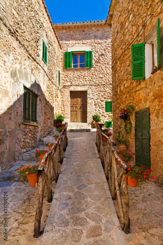 Romantyczny Treppe w Valldemossa