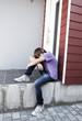 jeune ado déprimé