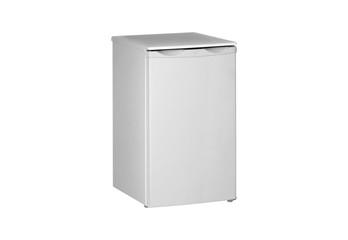 Small  fridge isolated on white