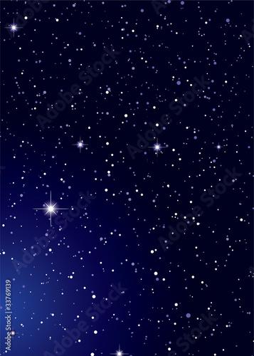 Noce na niebie