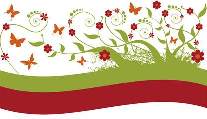 Floral ornamento