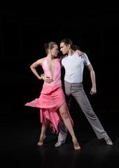 ballet dancers in rehearsal