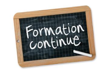 "Ardoise ""Formation continue"""