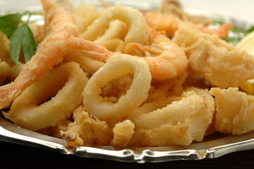 Frittura di pesce - Fried fish