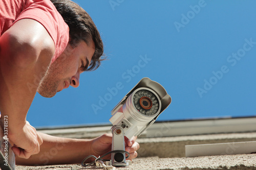 Fixing the security camera