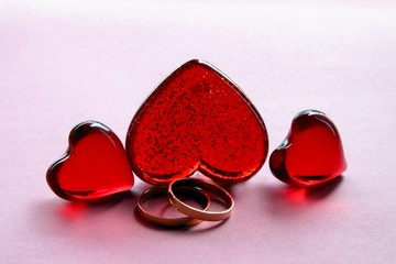 symbolic composition for Valentines Day