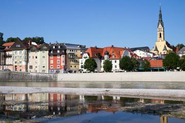 Das malerische Städtchen Bad Tölz in Oberbayern