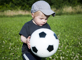 Boy With The Ball