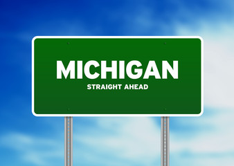 Michigan Highway  Sign