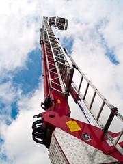 Ladder fire engine 2
