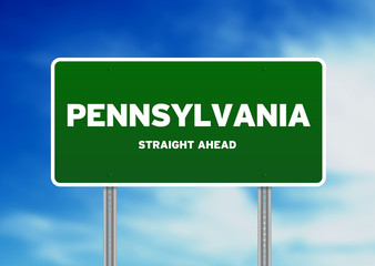 Pennsylvania Highway Sign