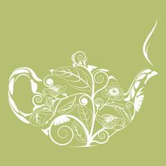 teapot Background