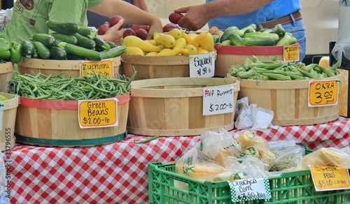 Farmer's Market  veggies