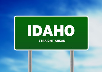 Idaho Highway  Sign