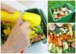 recyclage de légumes